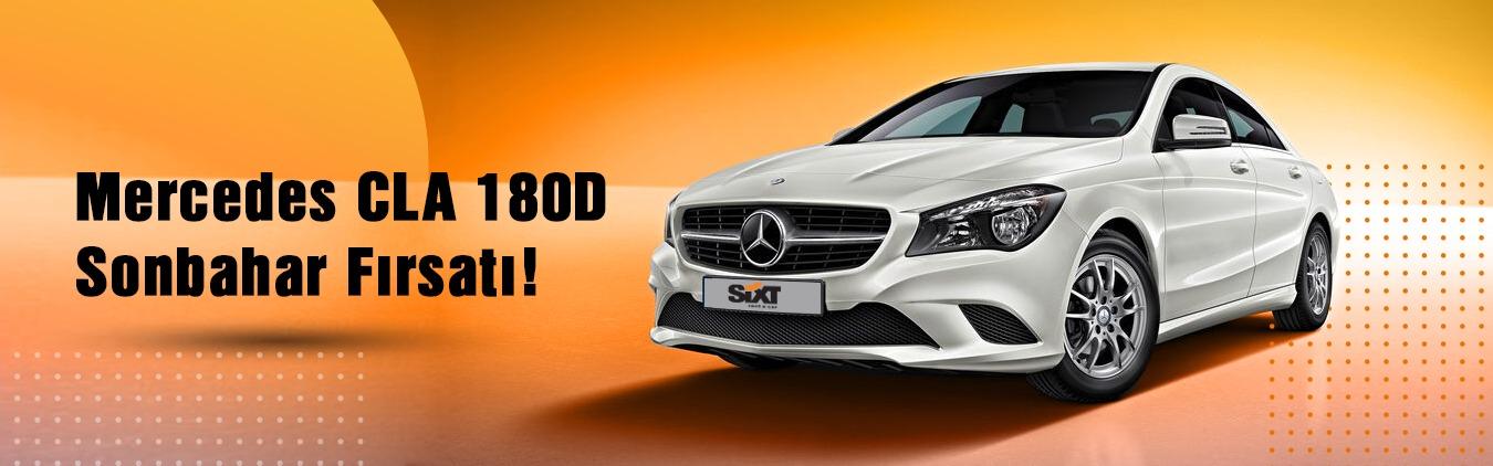Mercedes CLA 180D Aylık 5.150 TL!